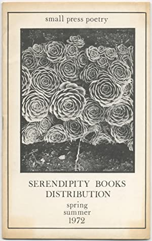 Small Press Poetry. Serendipity Books Distribution. Spring Summer 1972: Serendipity Books