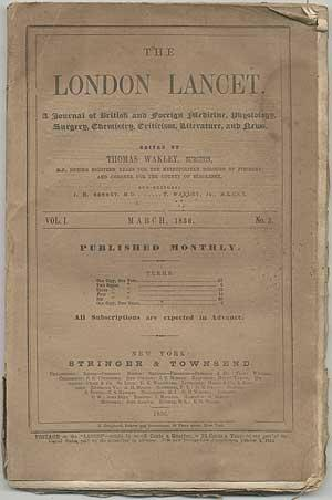 The London Lancet. A Journal of British: WAKLEY, Thomas