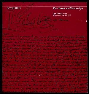 Fine Books and Manuscripts