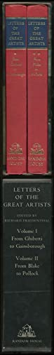 Letters of the Great Artists:Volume I: From: FRIEDENTHAL, Richard
