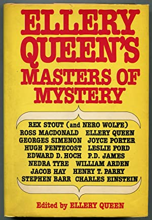 Ellery Queen's Masters of Mystery: QUEEN, Ellery, edited by