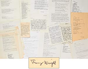 A Collection of Franz Wright Poems and: WRIGHT, Franz