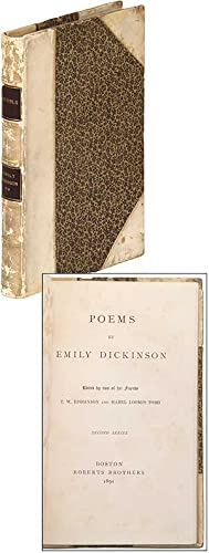 Poems by Emily Dickinson. Second Series: DICKINSON, Emily