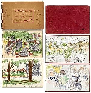 Two Sketchbooks of an American-Israeli Artist: KUSHNER-WEINER, Anita