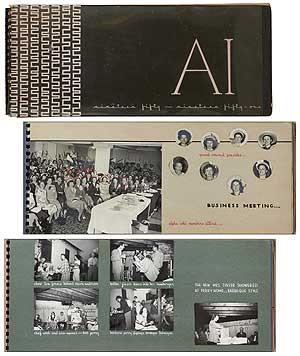 Alpha Iota Chapter of Theta Sigma Phi.: R.P.L. [Rosemary Leal?]