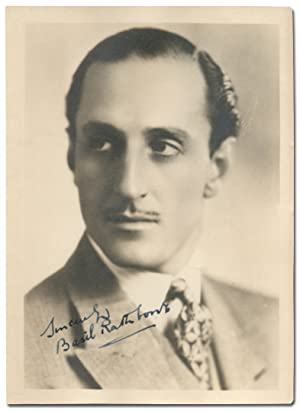 Signed Photograph of Basil Rathbone