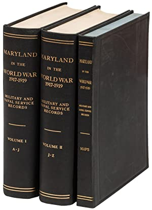 Maryland in the World War 1917-1919: Military