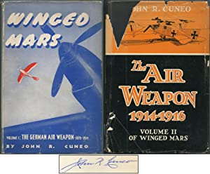 Winged Mars: Volume I: The German Air Weapon, 1870-1914 [and] Volume II: The Air Weapon, 1914-1916