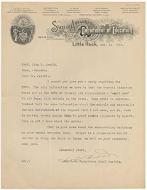 [Typed Letter Signed (in facsimile)]: Maintaining the