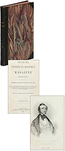 Our Contributors: Edgar Allan Poe by James Russell Lowell (with portrait) [in] Graham's American ...