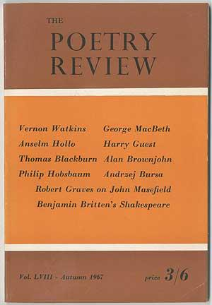 The Poetry Review - Autumn 1967 (Volume LVIII, Number 3)