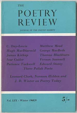 The Poetry Review - Winter 1968/9 (Volume: DAY-LEWIS, C., Hugh