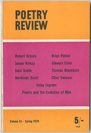 The Poetry Review - Spring 1970 (Volume: GRAVES, Robert, James