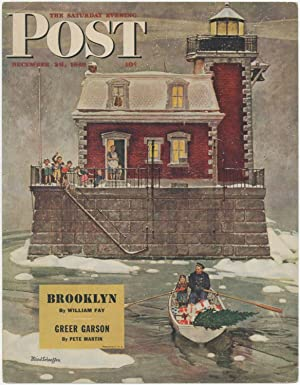 (Broadside): The Saturday Eventing Post. December 28, 1946. Brooklyn by William Fay. Greer Garson...