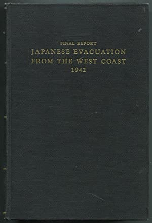 Final Report, Japanese Evacuation From the West