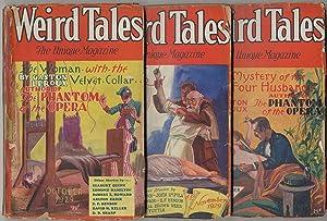 Pulp magazine]: Weird Tales -- October, November: HOWARD, Robert E.,