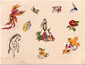 Original Tattoo Flash Art. 1976