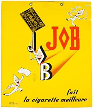 [Stand-Up Display Poster]: JOB fait la cigarette meilleure
