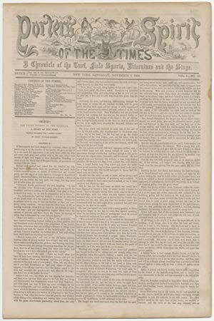 Porter's Spirit of the Times: A Chronicle
