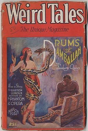 Pulp magazine]: Weird Tales -- March 1930: LOVECRAFT, H.P., Seabury