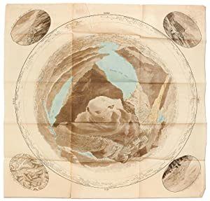 Hand-colored map: [Panorama, oder, Zirkel-Aussicht vom Rigi: PFYFFER VON WYHER,