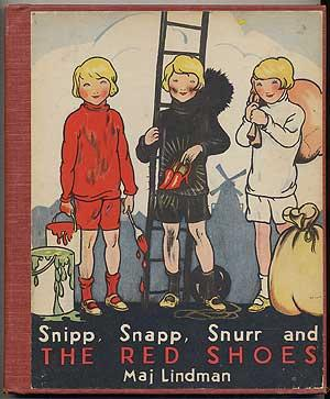 Snipp, Snapp, Snurr and The Red Shoes: LINDMAN, Maj