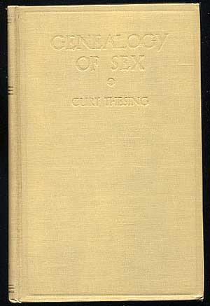 Genealogy of Sex: Sex in its myriad: THESING, Curt