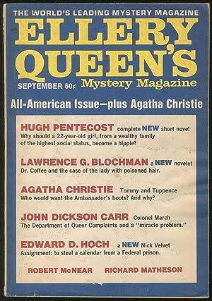 September 1970: Ellery Queen's Mystery Magazine: QUEEN, Ellery, edited