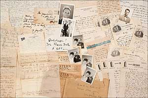 Archive]: A Collection of Letters and Confidential: LIPCHITZ, Yulla). Walter