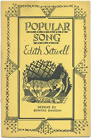 Popular Song: SITWELL, Edith