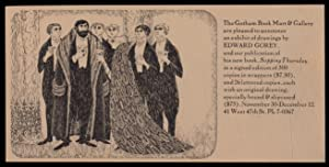 Handbill or postcard]: The Gotham Book Mart & Gallery are pleased to announce an exhibit of ...