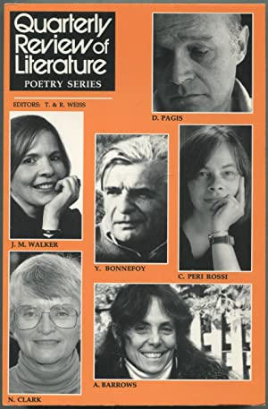 Quarterly Review of Literature: Poetry Series XI, Volume XXXI