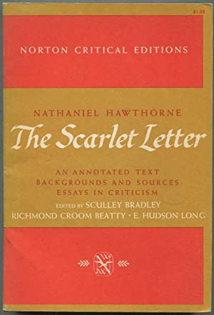 The Scarlet Letter An Annotated Text Backgrounds HAWTHORNE Nathaniel Edited
