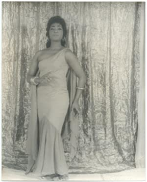Portrait photograph of Gloria Davy as Aida, Act I, Scene 2: VAN VECHTEN, Carl. (Gloria Davy)