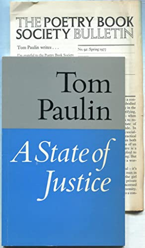A State of Justice: PAULIN, Tom