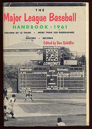 The Major League Baseball Handbook 1961: SCHIFFER, Don, edited