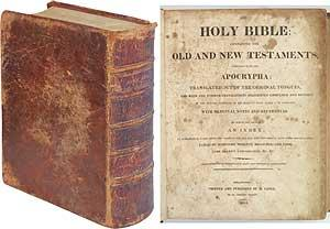 The Holy Bible: containing the Old and New Testaments, Together with the Apocrypha