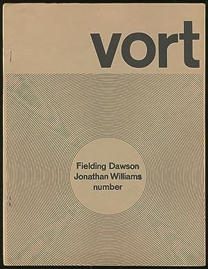 Vort #4 (Vol. 2, No. 1): CREELEY, Robert, Jonathan