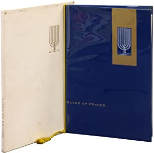 Gates of Prayer 1845 1960 Congregation Shaaray: GROSS, Chaim)