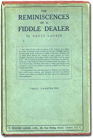 The Reminiscences of a Fiddle Dealer: LAURIE, David