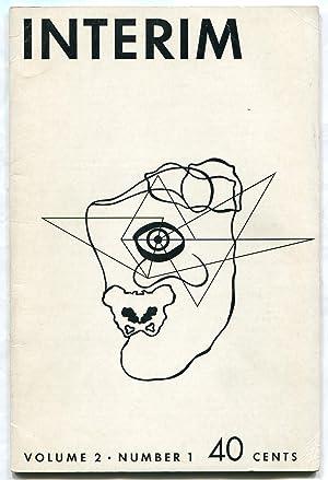 Interim - Volume 2, Number 1: NORSE, Harold, August