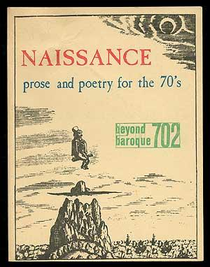 Beyond Baroque 702: Naissance, Prose and Poetry: ARVIN, Robert, Joseph