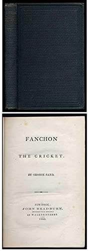Fanchon the Cricket: SAND, George
