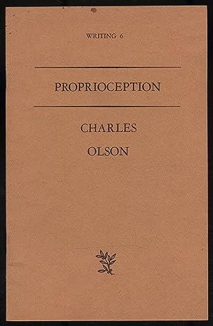 Proprioception: OLSON, Charles