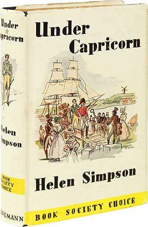 Under Capricorn: SIMPSON, Helen de