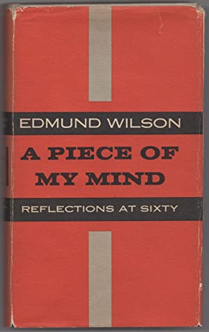 A Piece Of My Mind: WILSON, Edmund
