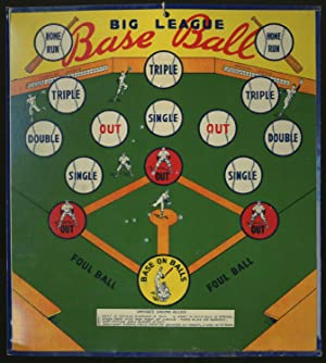 Magnetic Dart Game]: Big League Base Ball [and] Safe T Dart Electro