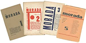 The Morada -- No. 1--3, 5 (all: BOWLES, Paul, Kenneth