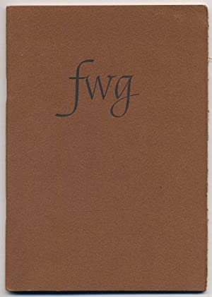 FWG: Tributes: FORGUE, Norman W.
