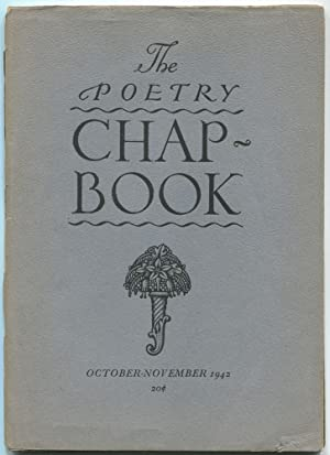 The Poetry Chapbook: October-November 1942: NICHOLL, Louise Townsend)